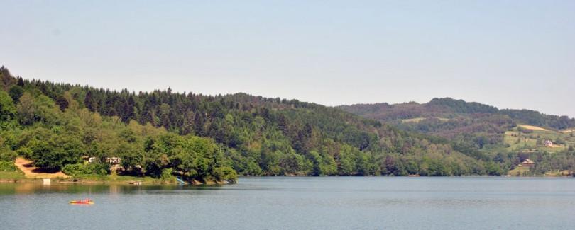 Jezioro Solińskie - Wzgórze Poręby