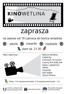 Plenerowe Kino Wetlina 2014